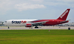 StratAir (Northern Air Cargo) 767F (Infinity & Beyond Photography: Kev Cook) Tags: stratair northernaircargo 767f boeing 767 cargo freighter b767f n351cm kfll fll fortlauderdale airport planes aircraft