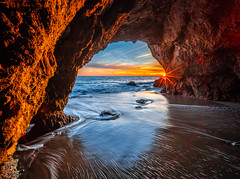 Malibu Sea Cave Sunset El Matador State Beach California Fine Art Landscape Nature Fuji GFX100 Sunset Photography! Dr. Elliot McGucken dx4/dt=ic California Master Fine Art Medium Format! Venus Laowa 17mm f/4 Zero-D Lens GFX MF Ultra Wide Angle Lens! (45SURF Hero's Odyssey Mythology Landscapes & Godde) Tags: malibu sea cave sunset el matador state beach california fine art landscape nature fuji gfx100 photography dr elliot mcgucken dx4dtic master medium format venus laowa 17mm f4 zerod lens gfx mf ultra wide angle