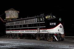 R&N EMD F9A #270 @ Reading, PA (Darryl Rule's Photography) Tags: 2020 berkscounty cabunit diesel emd funit january night nightphotos outerstation pa pennsylvania railroad railroads readingnorthern temple train trains winter