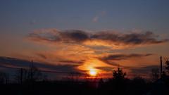 Sunrise Over Boonton_3176 (smack53) Tags: smack53 sunrise sunshine morning morningsky sky clouds cloudy cloudysky earlymorning winter wintertime winterseason boonton newjersey nikon coolpix p7000 nikonp7000 nikoncoolpixp7000 paintedsky