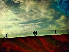 Hometown {2/52} (Explored) (therealjoeo) Tags: week22020 wed08january2020 52weeksthe2020edition sidewalk school sky clouds texture explore