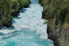 Down Huka Falls ll (fate atc) Tags: 200000literspersec hukafalls laketaupooutflow nz newzealand northisland taupo waikato waikatoriver water rapid waterfall