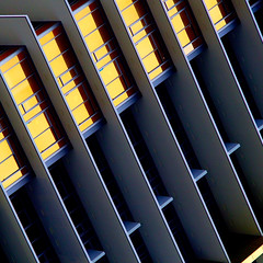 Price of Gold (♫ marc_l'esperance) Tags: condominium construction condo building gold glass geometric lines angles architectural abstract abstraction architecture geometry vintagelens nikkorpc125f105cm ltm rangefinder lens nikkor 105mm m39 manualphotography luxmaticcom marclesperancephoto 2019 burnaby bc vancouver canada