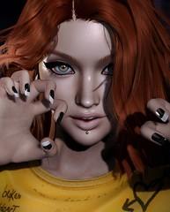 Rawrrr! (Alisa Perne) Tags: alisa26 alisaperne secondlife sl avatar lelutka bento meshhead glamaffair skinapplier bom belleza nails monso hdapplier alme