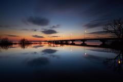 Evening twilight (chibitomu) Tags: bridge lake landscape twilight kasumigaura namegatashi ibaraki japan 霞ヶ浦 霞ヶ浦大橋 黄昏れ 行方市 茨城県 日本 chibitomu