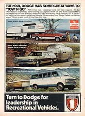 1974 Dodge Recreational Pick-Up Monaco Brougham Wagon Sportsman Wagon Chrysler USA Original Magazine Advertisement (Darren Marlow) Tags: 1 4 7 9 19 74 1974 d dodge r recreational v vehicles m monaco b broughan s sportsman w wagon p pick u up c chrysler car cool collectible collectors classic a automobile vehicle usa united states american america 70s