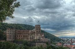 Heidelberg Castle (Kasimir) Tags: heidelberg castle castillo clouds wolken nubes germany deutschland alemania nwn