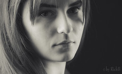 Can I trust? (RickB500) Tags: portrait girl rickb rickb500 model beauty expression face cute hair