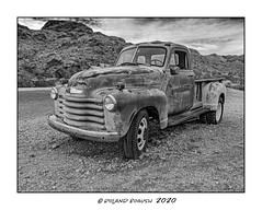 Levee still very dry - Chevy 1 ton pick-up (Roland Bogush) Tags: lasvegas sonyrx100mk7