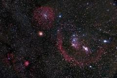 Orion (Christoph Wenzel) Tags: nacht deepsky deutschland nebel bellatrix barnardsloop alnilam dunkelheit m42 astro m78 alnitak messier saiph orionnebel beteigeuze rigel m43 thüringen farben sterne neuhausamrennweg mintaka sonysel35mmf18 orion sony alpha 6000 sonyalpha6000 astrometrydotnet:id=nova3866439 astrometrydotnet:status=solved