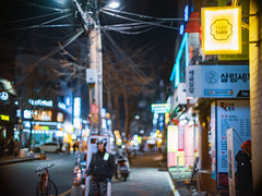 2219/1746 (june1777) Tags: snap street alley seoul night light bokeh fujifilm gfx 50r canon ef 50mm f10 640 hongdae adcn art4