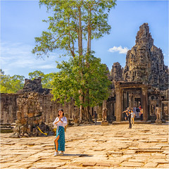 Bayon, Angkor Tempel, Kambodscha (Janos Kertesz) Tags: tempel bayon angkor khmer cambodia temple stone architecture ancient religion asia old ruin heritage monument asian