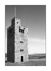Boots Tower (oldeyes47) Tags: blackandwhite filmphotography filmcamera minolta xg9 ilfordhp5 rodinal epsonv800 bootstower