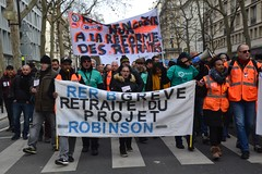 Manifestation du samedi 11 janvier contre le projet de réforme des retraites (Jeanne Menjoulet) Tags: retraites manifestation paris manif manifestants janvier2020 demonstration france defense pensions grève projet ratp rer sncf
