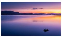 Blue sunset (Ignacio Ferre) Tags: embalsedesantillana santillanareservoir manzanareselreal madrid españa spain sunset puestadesol anochecer landscape paisaje naturaleza nature nikon blue azul lago lake