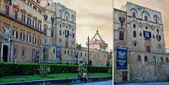 Palais des Normands, Palerme, Sicile, Italie (claude lina) Tags: claudelina italia italie italy sicilia sicile sicily palermo palerme ville town cita architecture palais palazzo palaisdesnormands normanni palazzodesnormanni
