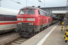 nur eine Lok (daveymills37886) Tags: db 218 463 münchen hauptbahnhof baureihe v160 fv
