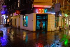 Katowice (nightmareck) Tags: katowice śląskie górnyśląsk silesia polska poland europa europe night handheld neon velviavivid fujifilm fuji fujixt20 fujifilmxt20 xt20 apsc xtrans xmount mirrorless bezlusterkowiec xf16mm xf16mmf14rwr fujinon primelens rain deszcz