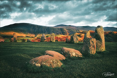 Castlerigg stone circle. (_Anathemus_) Tags: the lake district cumbria uk england west north stone circle megalithic nikon d750 ring landscape sunset druids