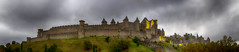 "moody panorama of the UNESCO site, Carcassonne, ""Cité de Carcassonne"", Aude, Occitanie, France. (grumpybaldprof) Tags: carcassonne ""citédecarcassonne"" unesco world heritage fortress castle keep donjon city walled ""basilicaofsaintsnazariusandcelsus"" aude occitanie france fort fortification ""walledcity"" ""walledtown"" ""citywall"" chateaufort chateau ville cite ""villefortifiée"" gate rampart exterior outside building architecture mood moody atmosphere atmospheric"