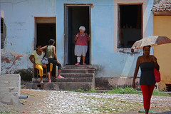 Missed a Step (emerge13) Tags: architecture colonialarchitecture cuba trinidadsanctispirituscuba architecturaldetails humans people candid cobblestonestreets trinidad street streets trinidadcuba colorfulcities livingstreets saariysqualitypictures