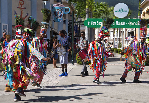 Traditional Dancers, St Kitts (2)