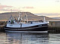"""Kiloran""  At Greencastle, Co. Donegal. (willieguildea) Tags: boat fishingboat vessel greencastle donegal ireland eire ulster harbour port quay landscape sky clouds nikon p900 coolpix coast coastal"