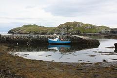 Isle of Harris: Hafen in Rodel - Roghadal (Helgoland01) Tags: westernisles outerhebrides alba scotland schottland lewisandharris hafen port harbor fischerei atlantik atlantic