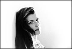 Macedonian beauty. (Dan Uneken_) Tags: girl woman beautiful убава pretty hair mouth жена balkan blonde представисичесижена macedonia skopje