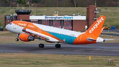 🇬🇧 G-EZOA A320SL EASYJET (John Mason 2019) Tags: bhx egbb ezy gezoa a320 wwwbhxspottercom holidays airbus easyjet retro waves sea takeoff birminghamairportbhx