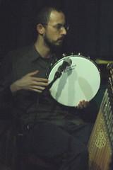 Near East Collective (2020) 09 (KM's Live Music shots) Tags: worldmusic greece rebetiko balkanmusic neareastcollective kostasglynos framedrum drums jamboree