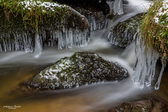 Eiszapfen am Lohnbachfall (AnBind) Tags: ausflug niederösterreich waldviertel lohn 2019 lohnbachfall naturdenkmal