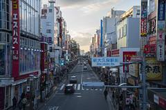 Temporary Home. (aeder625) Tags: japan koreatown shinokubo shinjuku street tokyo trainstation cars