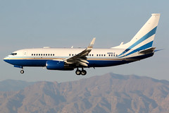 Las Vegas Sands | Boeing 737-700 BBJ | N889LS | Las Vegas McCarran (Dennis HKG) Tags: lasvegassands bbj 737bbj bbj1 aircraft airplane airport plane planespotting bizjet businessjet canon 7d 100400 lasvegas mccarran klas las n889ls boeing 737 737700 boeing737 boeing737700
