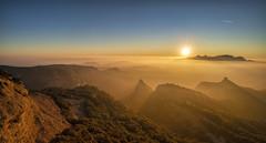 Sant Llorenç del Munt, CAT, ES (StarCitizen) Tags: spain catalonia mountains fog rocks sky sunset