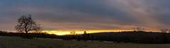 Cloudy Sunrise (Deepmike70) Tags: frost landscape sunrise nature panoramic morning hills trees