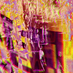defiant (fibreman) Tags: manchester uk photo photography digital art lofi legacy software trippy grainy colour effect streets blur manipulation composite layer layering distorted distortion weird strange mystery political cinema purple pink 3d dream dreamlike vandalised photoshop paintshoppro yellow
