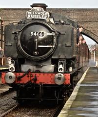 THE COTSWOLD RAMBLER (chris .p) Tags: toddington station gloucestershire nikon d610 view capture steam gwr 060 winter 2019 train december platform gloucesterandwarwickshire bridge railways