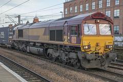 DB Cargo Class 66 66012 (Rob390029) Tags: db cargo class 66 66012 newcastle central railway station ncl