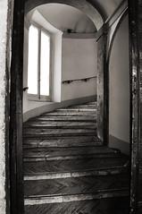 Entering (DameBoudicca) Tags: italy italien italia italie イタリア rome rom roma ローマ renaissance renacimiento rinascimento ルネサンス renässansen villagiulia villajulia museonazionaleetrusco stairs trappa treppe escalera escalier scala 階段