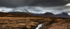 Re-visiting old friends. (lawrencecornell25) Tags: landscape scenery scotland skye scenic snow mountains isleofskye sligachan nature outdoors winter snowcapped cloudy travel adventure uk nikond850