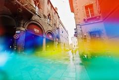 Bologna (Jelly) (goodfella2459) Tags: nikonf4 dubblefilm200 35mm c41 film analog colour bologna italy streets city buildings manilovefilm