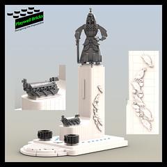 Admiral Yi Sun-sin Monument - Complete (Playwell Bricks) Tags: lego legotechniques legoideas legophotography legopictures legoart legofun art design architecture creativity engineering southkorea admiralyisunsin
