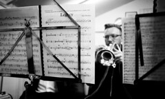 11a Knottingley Silver Band B (I ♥ Minox) Tags: film 2019 knottingley knottingleysilverband brassband windband music musician musicians rehearsal yorkshire westyorkshire olympus om2 om2n olympusom2 olympusom2n kodak kodaktmax400 tmax 400asa
