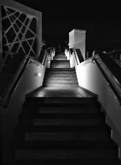 Stairs to the pool (AxellH1) Tags: black white blackandwhite schwarz weis blanco y negro bw spanien espana spain kanarische inseln canary islands islas canarias gran canaria las palmas mogan puerto rico riu vistamar
