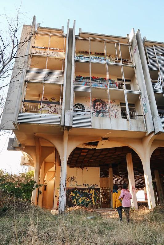 Abandoned hotel Croatia