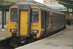 Northern Rail Class 156 156440 (Rob390029) Tags: northern rail class 156 156440 carlisle citadel railway station car wcml