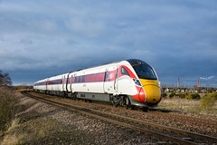 800205 + 800201 - Whittlesea - 11/01/20. (TRphotography04) Tags: london northeastern railways lner ieps 800205 800201 approach whittlesea diverted 1a22 1015 leeds kings cross service