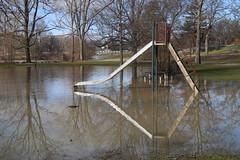 215/366/4232 (January 12, 2020) - Flooding at Curtiss Park (Saline, Michigan) - Sunday January 12th, 2020