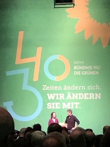 40 Jahre Grüne, 30 Jahre Bündnis 90 - I